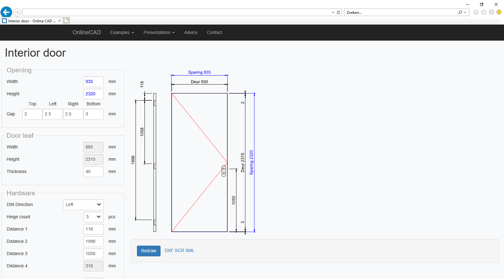 Online CAD applications - Welcome